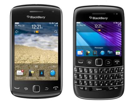בלקברי Curve 9380 (מימין), BOLD 9790 (משמאל) (צילום: צילום מסך)