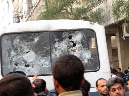 פיגוע בדמשק (ארכיון) (צילום: רויטרס)