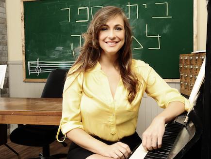 קרן פלס בבית ספר למוסיקה (צילום: רונן אקרמן)