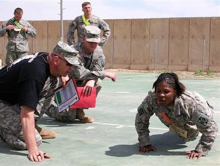 חיילת אמריקאית (צילום: צבא ארצות הברית)