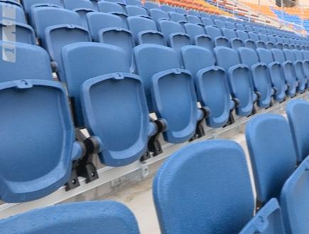 גם הכסאות חדשים ומבטיחים נוחות מירבית לצופה (צילום: מערכת ONE)