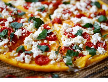 פיצה פולנטה (צילום: אפיק גבאי, אוכל טוב)