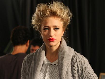 דפנה דה גרוט בשבוע האופנה בתל אביב (צילום: אילן לוי)