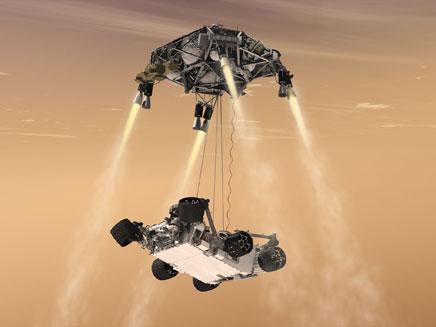 האם אפשר לקיים חיים במאדים? בקרוב נדע (צילום: AP)