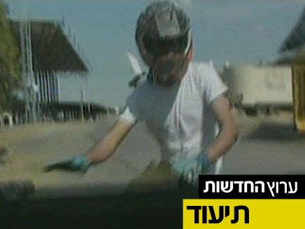 קטינים נוהגים ללא רישיון. תיעוד (צילום: חדשות 2)