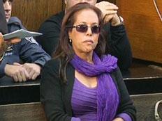 """""""זמרת מהממת"""". מרגול בבית המשפט (צילום: חדשות 2)"""