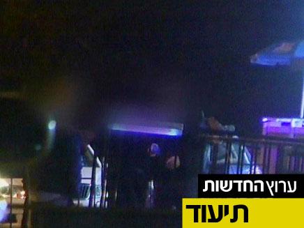 """""""אין כניסה לצד""""לניקים"""" (צילום: חדשות 2)"""