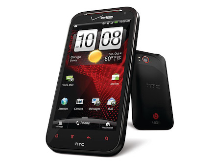 HTC Rezound (צילום: אתר רשמי)