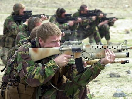 הצבא הבריטי באפגינסטן (צילום: Royal Navy, GettyImages IL)