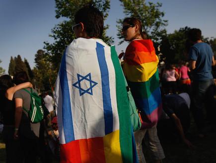 גאווה בישראל (צילום: David Silverman, GettyImages IL)