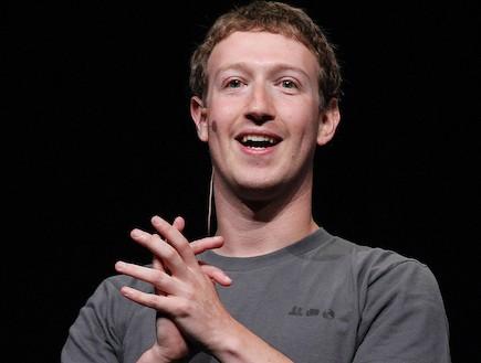 """מייסד ומנכ""""ל פייסבוק מארק צוקרברג (וידאו WMV: Justin Sullivan, GettyImages IL)"""