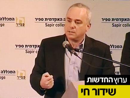 יובל שטייניץ (צילום: חדשות 2)