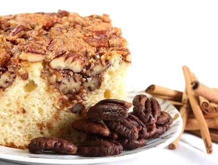 עוגת אגוזי פקאן (צילום: עודד קרני, אוכל טוב)