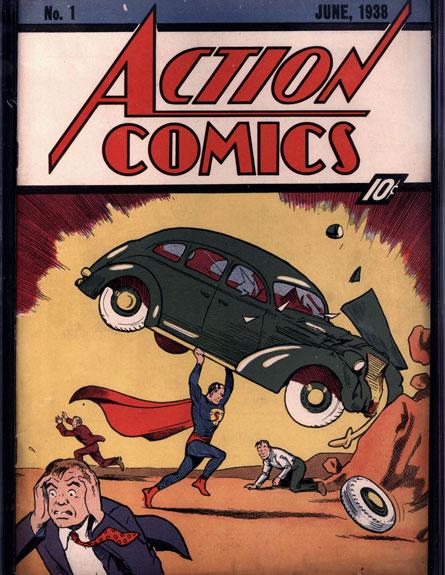 שונות החדשות - חוברת קומיקס של סופרמן נמכרה ב-2.6 מיליון דולר ZU-17