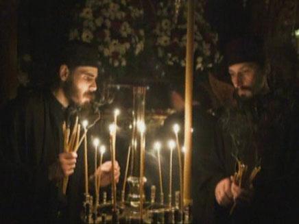 ביקור מיוחד במנזר מר סבא (צילום: אביר סולטן)