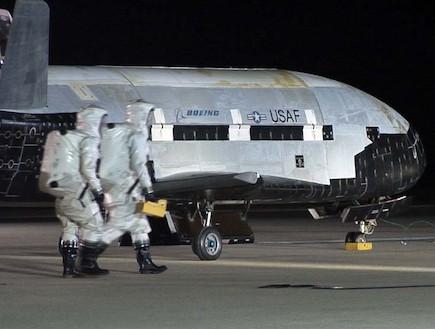 X-37B (צילום: צבא ארצות הברית)