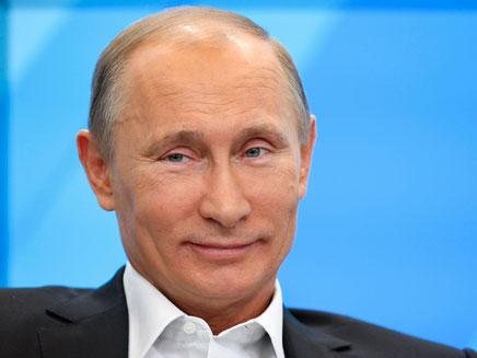 פוטין. הציע חיילים רוסים בגולן