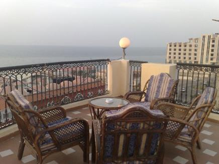מלון בעזה (צילום: חדשות 2)