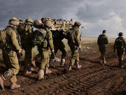 """גדוד חרב (צילום: בן אברהם, עיתון """"במחנה"""")"""