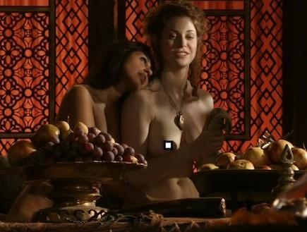 משחקי הכס סקס (צילום: אתר imagevenue.com)