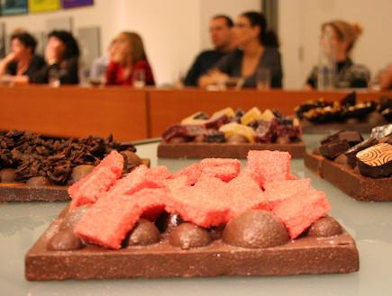 סדנת שוקולד בממילא (צילום: קרן לוי צדק)