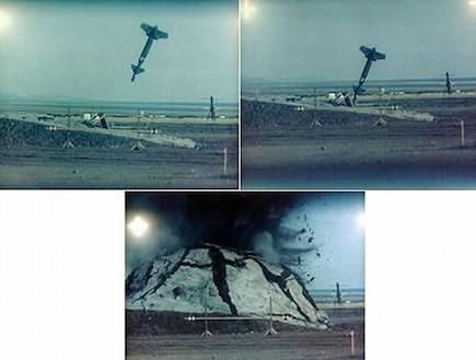 פצצה חודרת בונקרים מהירה (צילום: צבא ארצות הברית)
