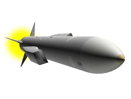 טיל לכל מטרה (צילום: Darpa)