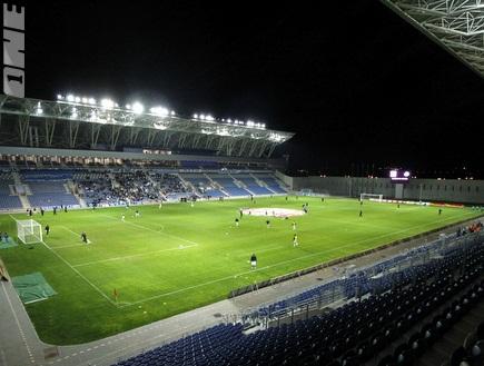 אצטדיון המושבה. לא יימכרו כרטיסים באצטדיון (יוסי ציפקיס) (צילום: מערכת ONE)