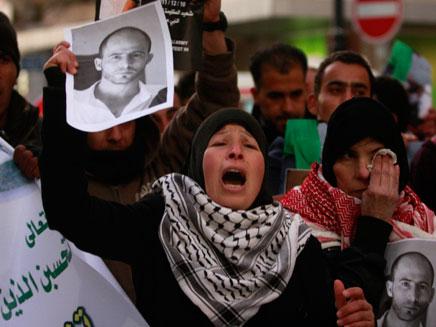 לווייה בנבי סלאח (צילום: חדשות 2)