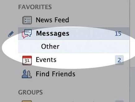 הודעות נסתרות בפייסבוק (צילום: KateRiep_Godbye)