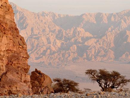 """עמק ססגון בבקעת תמנע (צילום: יח""""צ ססגון)"""