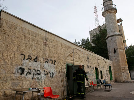 """""""תג מחיר"""" במסגד. העונש יוחמר? (צילום: רויטרס)"""