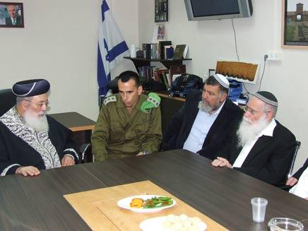 הפגישה, היום (צילום: באדיבות המועצה האזורית שומרון)