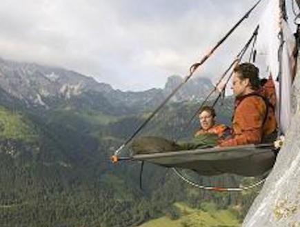 אוהל תלוי באוויר (צילום: אתר החברה)