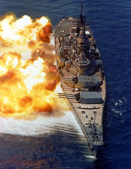 ספינת קרב איווה (צילום: navsource)