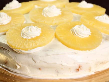 עוגת אננס (צילום: עודד קרני, אוכל טוב)