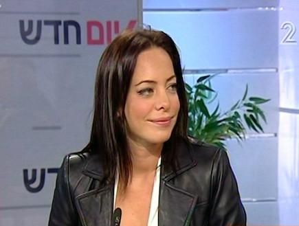 מיכל אמדורסקי בראיון (תמונת AVI: mako)