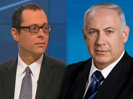 ביבי נתניהו וצבי האוזר (צילום: חדשות 2)