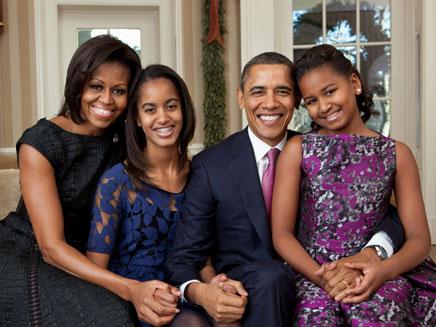 עדיין משלמים משכנתא. משפחת אובמה