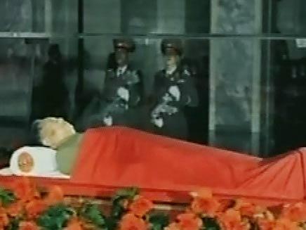 """קים ז'ונג איל. כבוד בינ""""ל (צילום: חדשות 2)"""