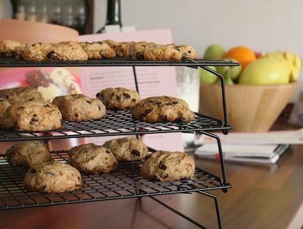 עוגיות שוקולד צ'יפס ללא גלוטן (צילום: תמר פלג, המגדניה של תמר)