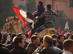 המפגינים בקהיר לא מקבלים את הרפורמות (צילום: אלג'זירה)
