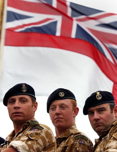 הצבא הבריטי (צילום: Spencer Platt, GettyImages IL)
