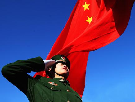 הצבא הסיני (צילום: Guang Niu, GettyImages IL)