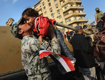 הצבא המצרי (צילום: John Moore, GettyImages IL)