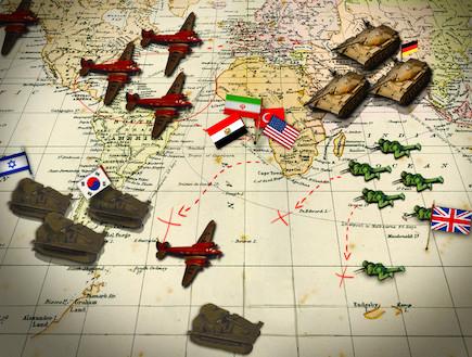 מפת שינויי כוחות בצבאות העולם (צילום: getty images, ויקיפדיה)