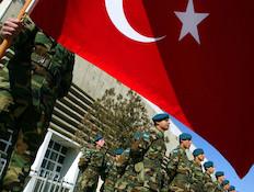 הצבא הטורקי (צילום: Paula Bronstein, GettyImages IL)