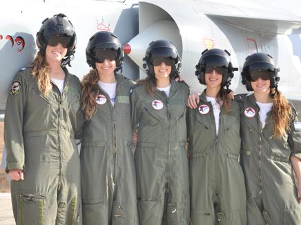 """הדרת נשים? לא בחיל האוויר (צילום: דו""""צ)"""