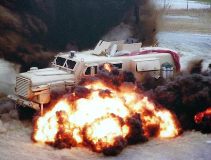 "Oshkosh MRAP (צילום: צבא ארה""ב, ויקיפדיה)"