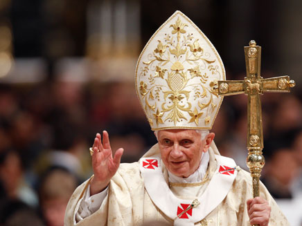 האפיפיור הפורש. בנדיקטוס ה-16 (צילום: רויטרס)